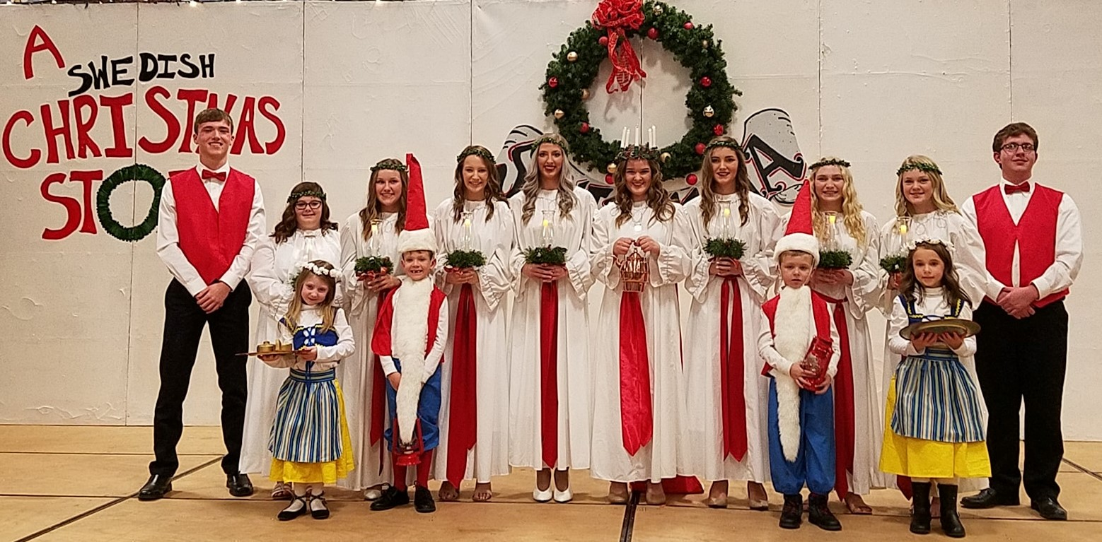 Congratulations to Stanton's 68th Santa Lucia Queen, Devin Isaacson