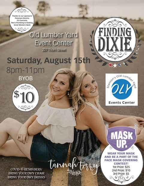 Finding Dixie at Old Lumber Yard Event Center