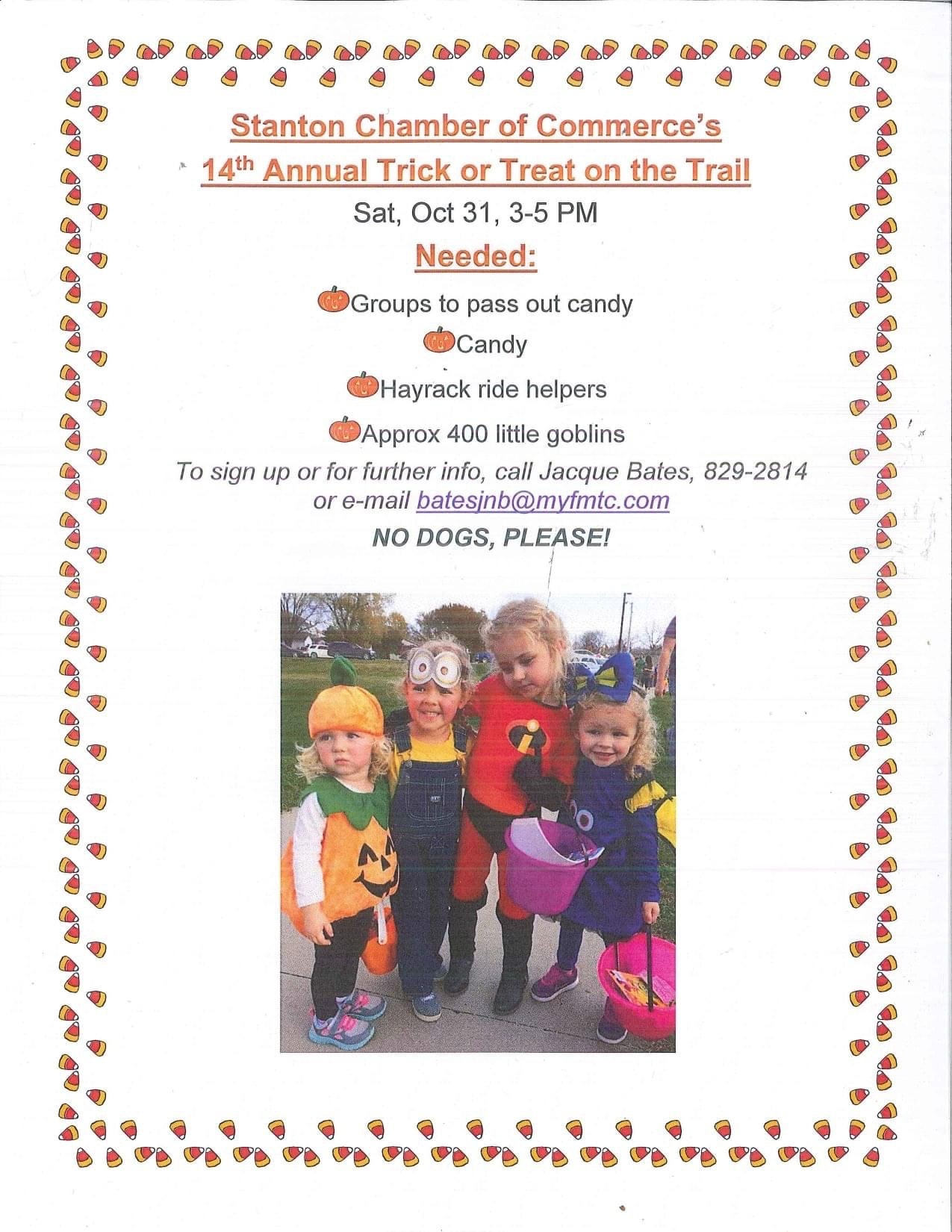 Trick or Treat on the Trail
