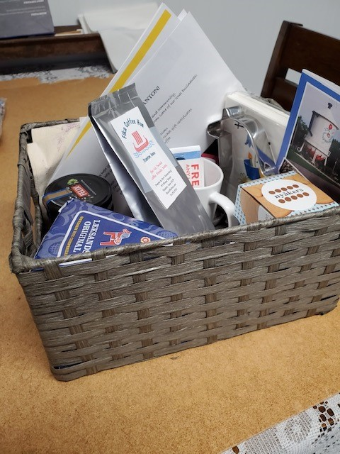 Have you received your Chamber welcome basket?