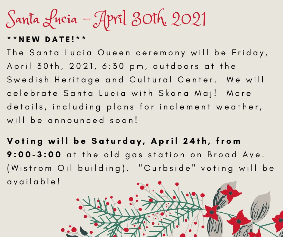 Join Us for Santa Lucia
