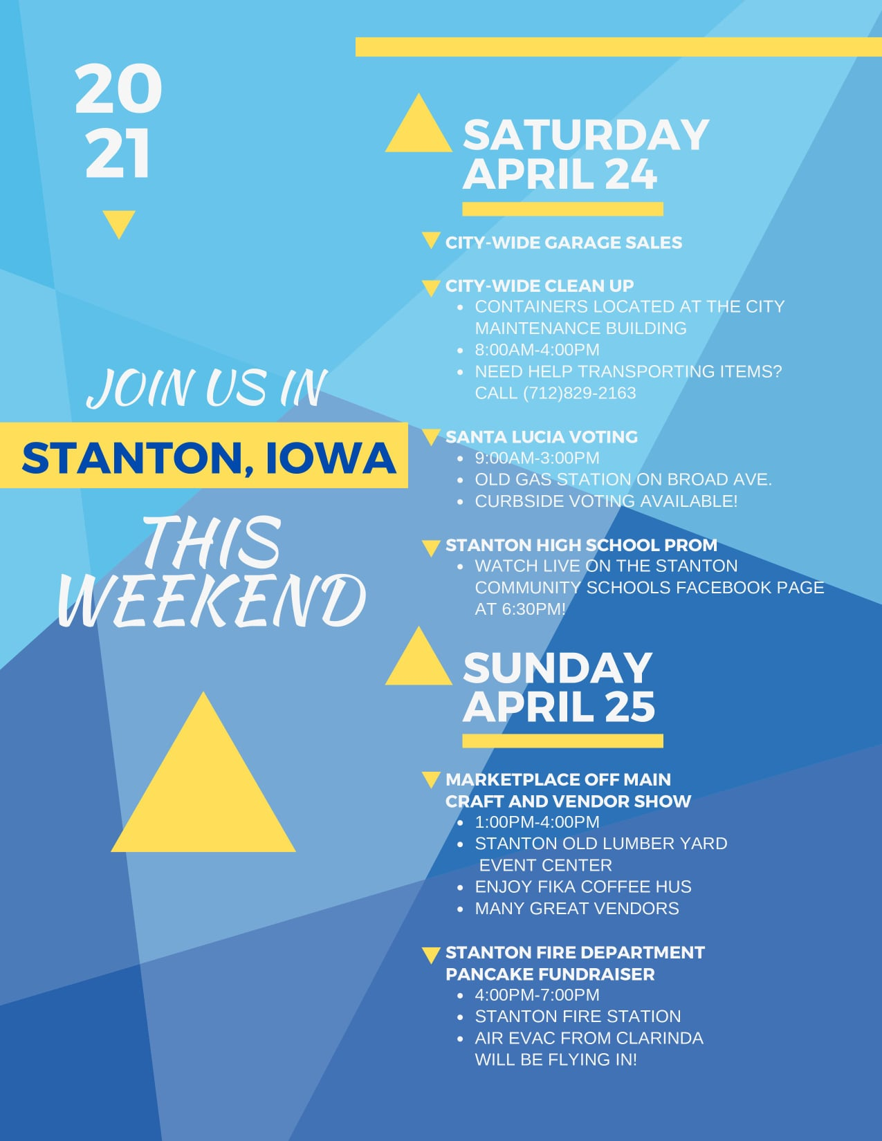 Join Us in Stanton!