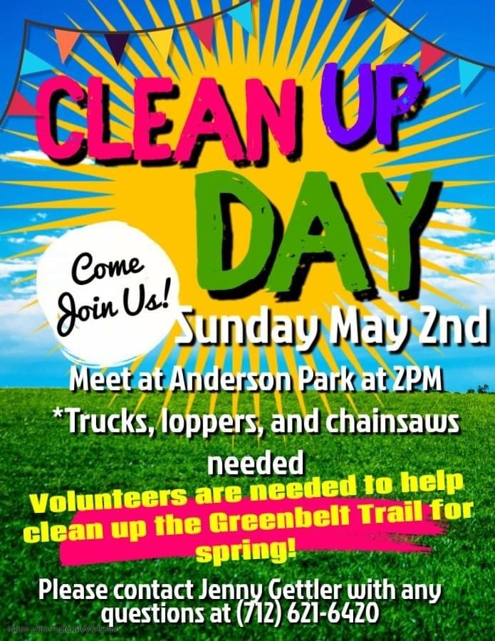 Join us for Trail Cleanup Day!